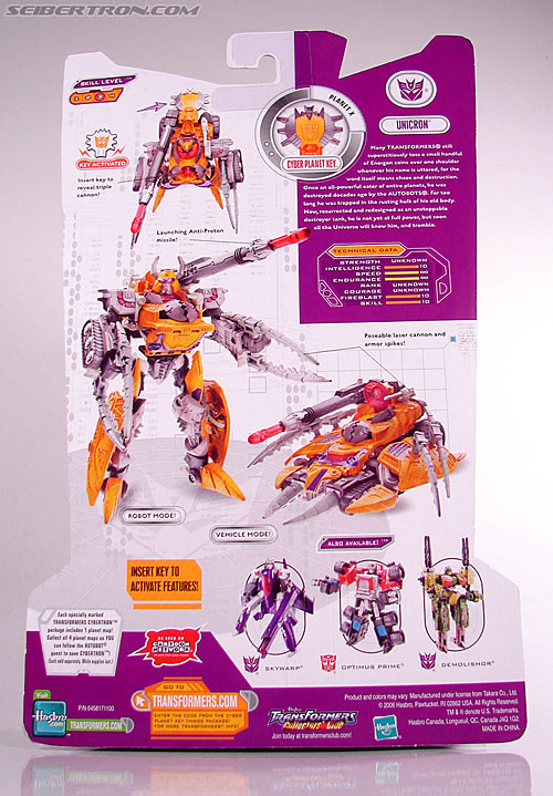 Transformers Cybertron Unicron (Image #14 of 123)