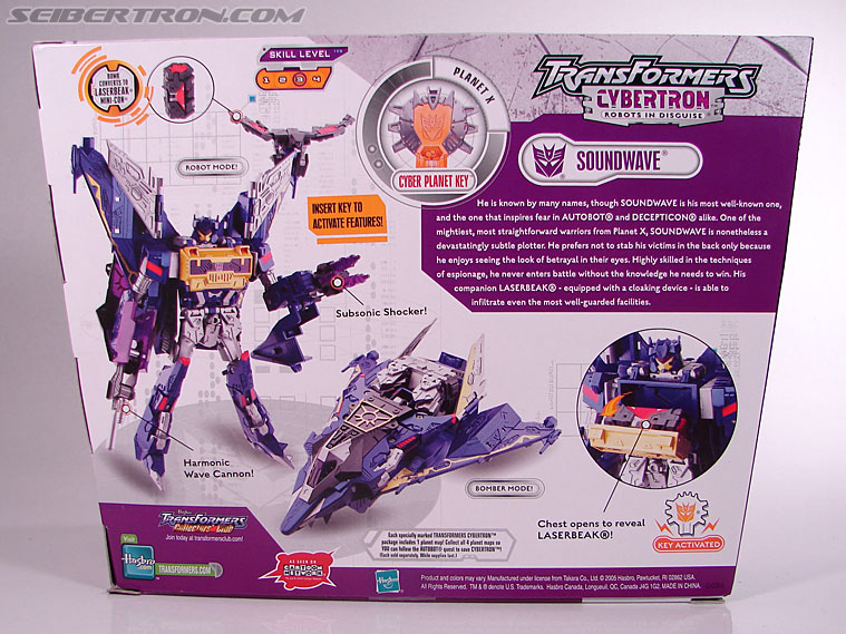 Transformers Cybertron Soundwave (Image #12 of 193)