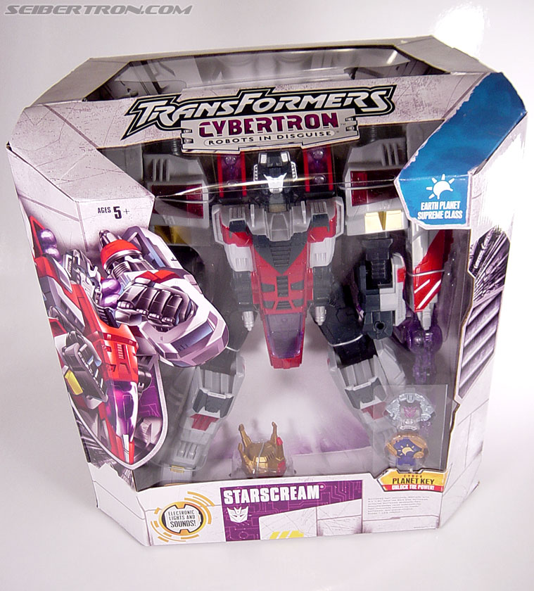 Transformers Cybertron Starscream (Super Starscream) (Image #1 of 170)