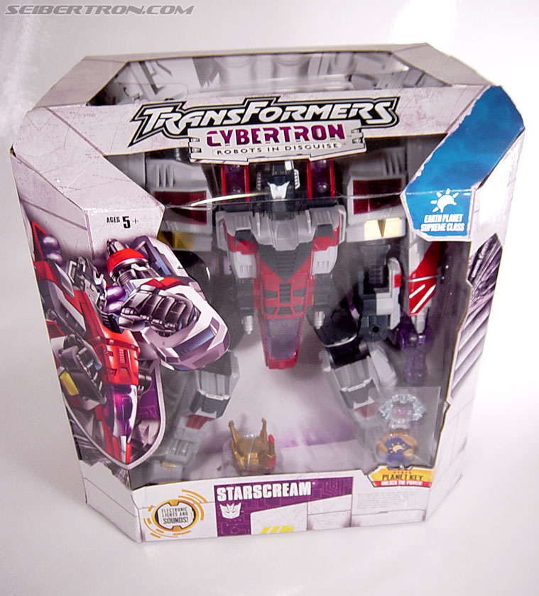 Transformers Cybertron Starscream (Super Starscream) (Image #2 of 170)