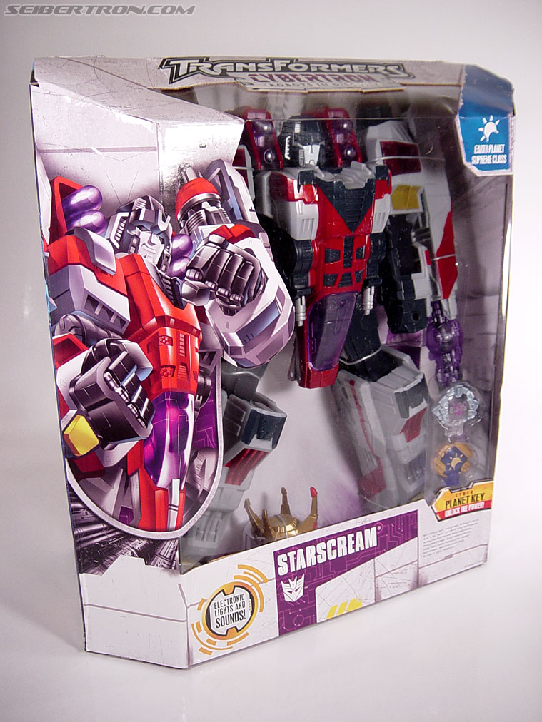 Transformers Cybertron Starscream (Super Starscream) (Image #6 of 170)