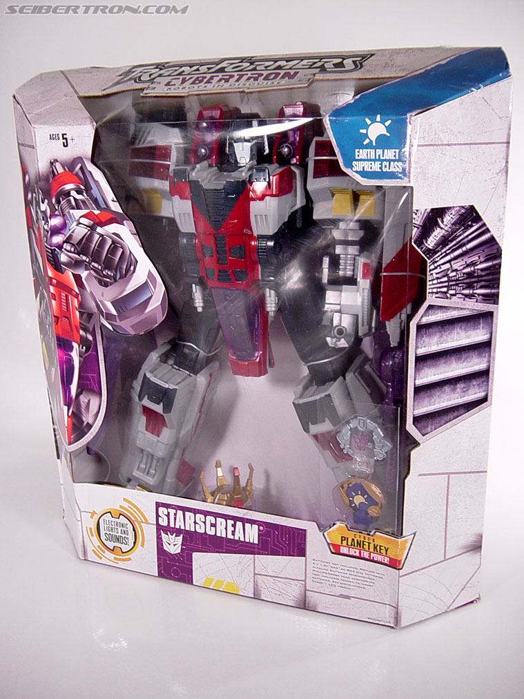 Transformers Cybertron Starscream (Super Starscream) (Image #28 of 170)