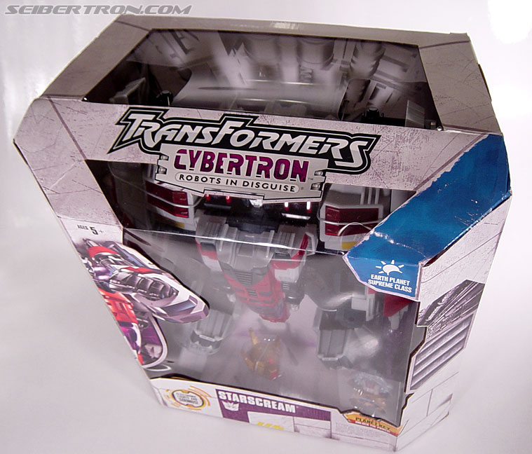 Transformers Cybertron Starscream (Super Starscream) (Image #29 of 170)