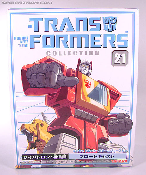 Transformers Collection Blaster (Broadcast)  (Reissue) (Image #2 of 137)