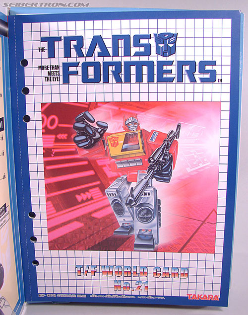 Transformers Collection Blaster (Broadcast)  (Reissue) (Image #17 of 137)