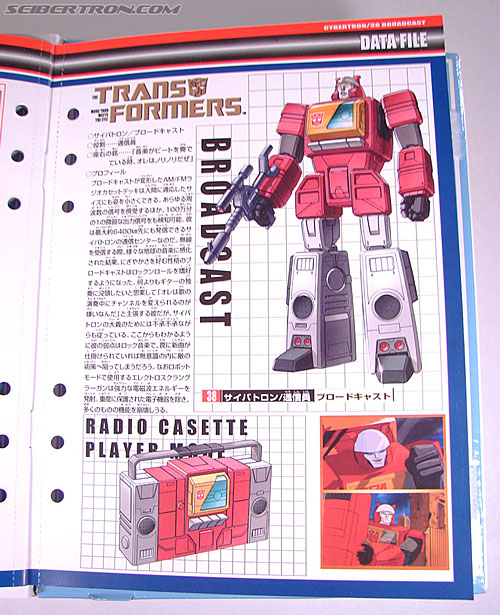 Transformers Collection Blaster (Broadcast)  (Reissue) (Image #33 of 137)