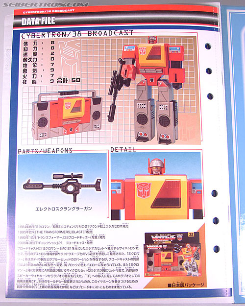 Transformers Collection Blaster (Broadcast)  (Reissue) (Image #35 of 137)