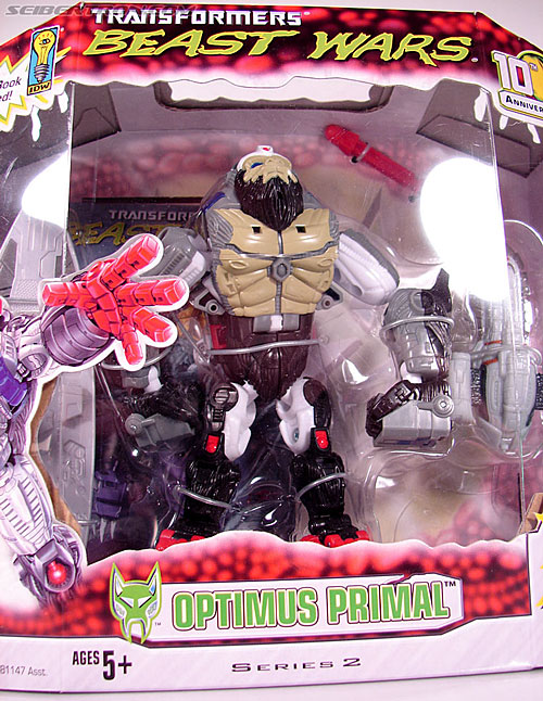 Transformers Beast Wars (10th Anniversary) Optimus Primal (Image #2 of 127)