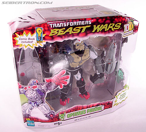 Transformers Beast Wars (10th Anniversary) Optimus Primal (Image #5 of 127)