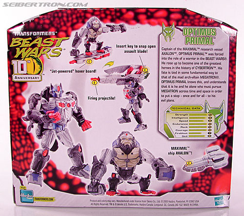 Transformers Beast Wars (10th Anniversary) Optimus Primal (Image #9 of 127)
