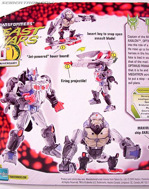 Transformers Beast Wars (10th Anniversary) Optimus Primal (Image #11 of 127)