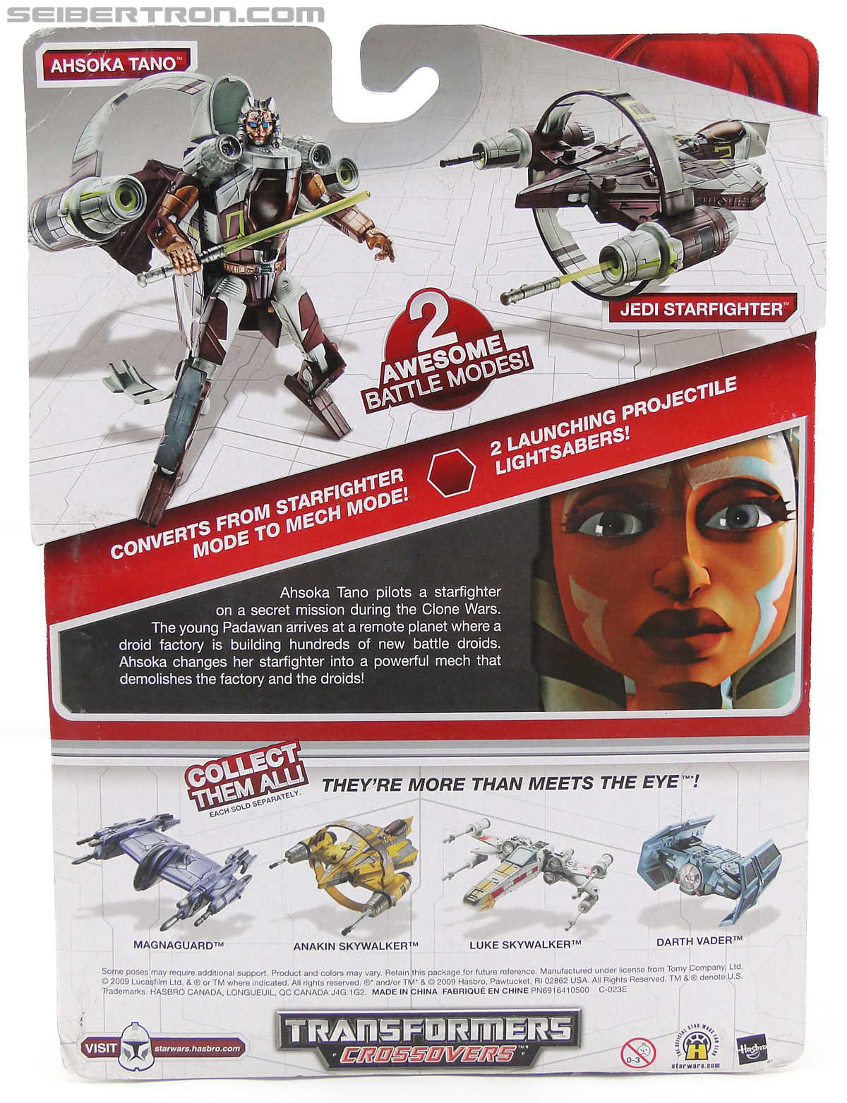 Star Wars Transformers Ahsoka Tano (Jedi Starfighter) (Image #6 of 108)