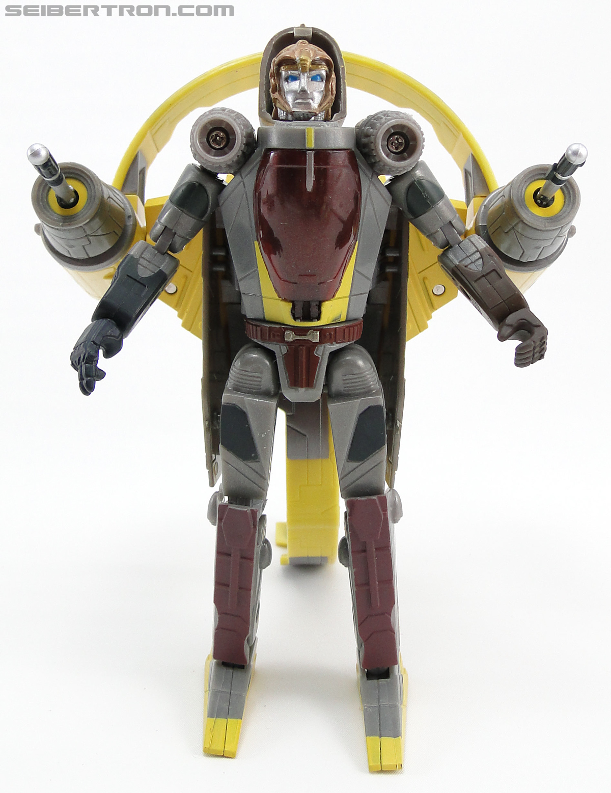Star Wars Transformers Anakin Skywalker (Jedi Starfighter with Hyperspace Docking Ring) (Image #44 of 131)