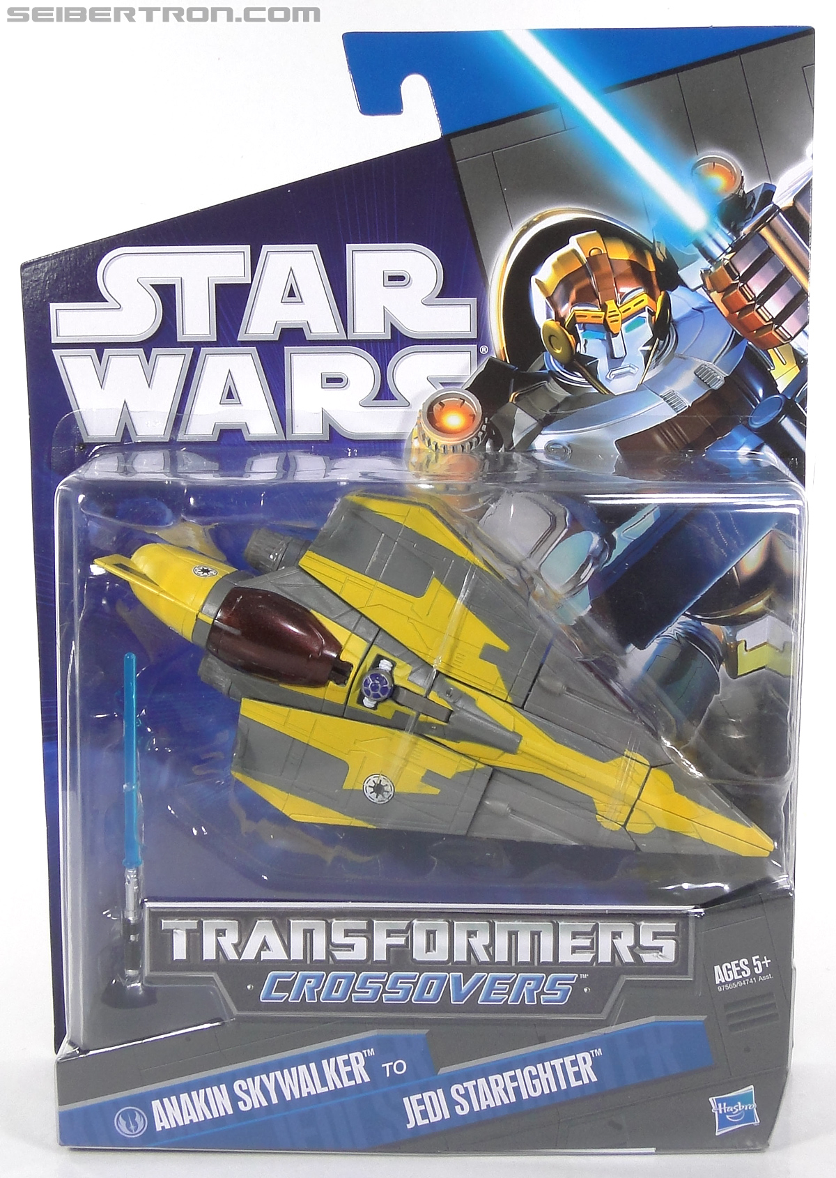 Star Wars Transformers Anakin Skywalker (Jedi Starfighter) (Image #1 of 108)