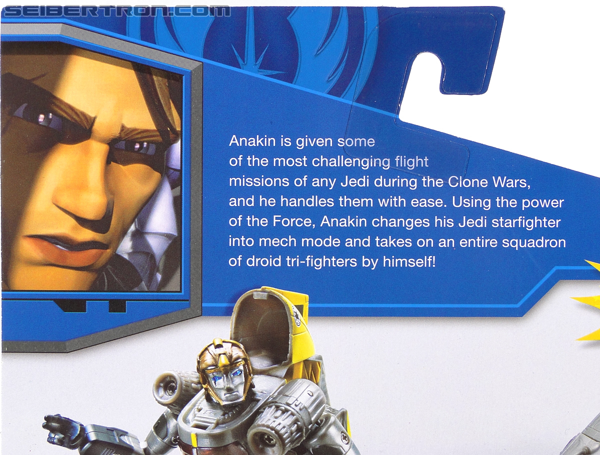 Star Wars Transformers Anakin Skywalker (Jedi Starfighter) (Image #8 of 108)