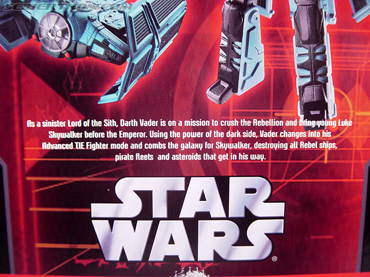 Star Wars Transformers Darth Vader (TIE Advanced) (Image #18 of 133)
