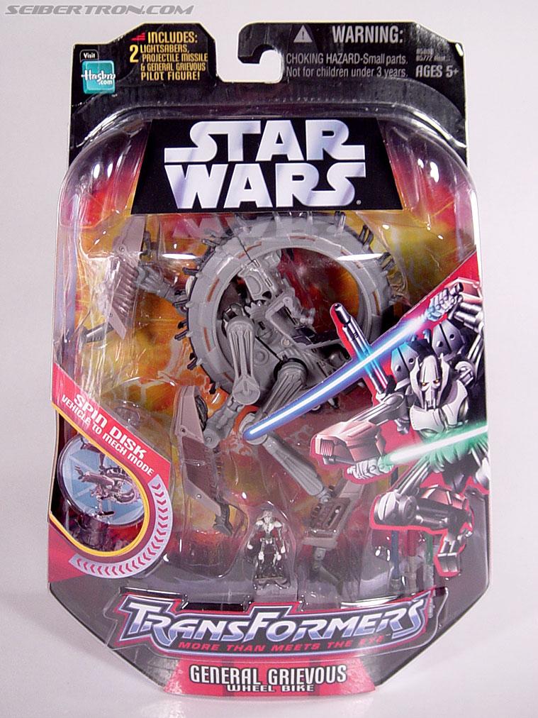 Star Wars Transformers General Grievous (Wheel Bike) (Image #1 of 117)