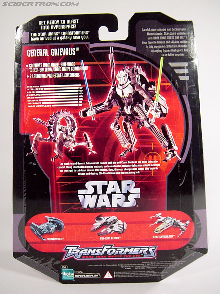 Star Wars Transformers General Grievous (Wheel Bike) (Image #16 of 117)