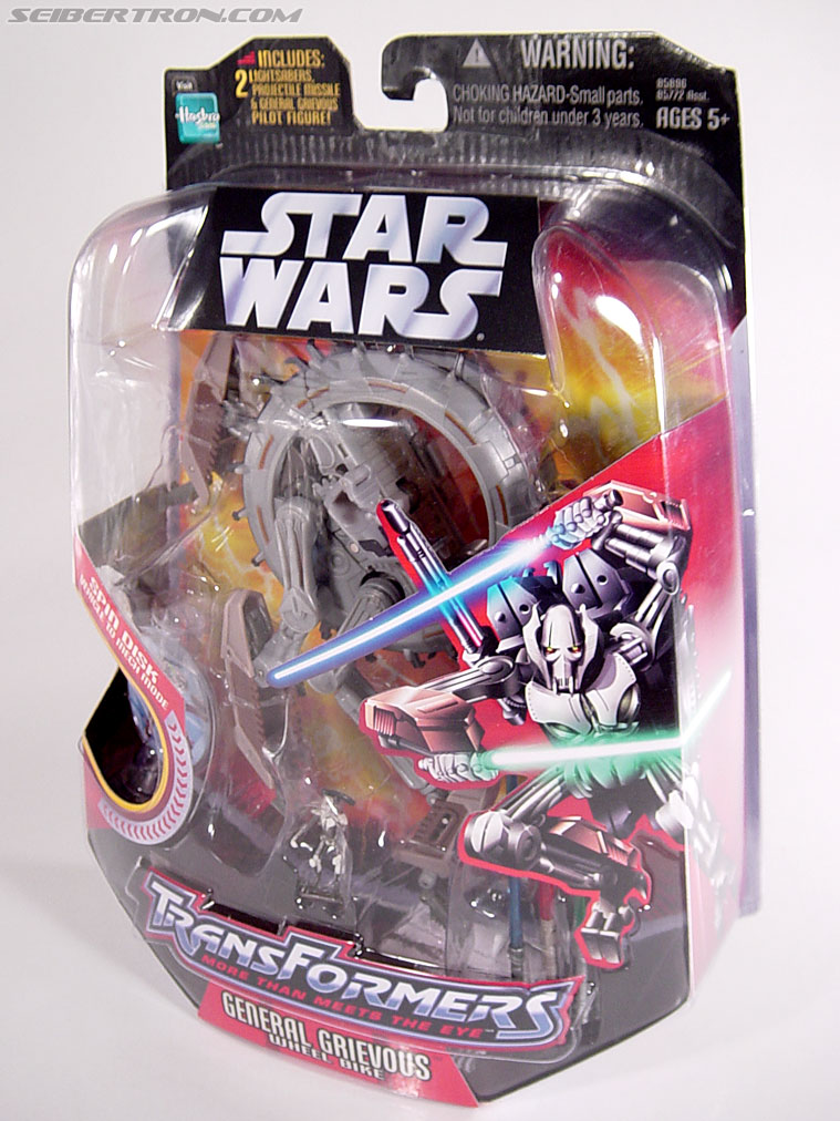 Star Wars Transformers General Grievous (Wheel Bike) (Image #23 of 117)