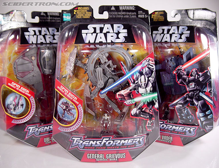 Star Wars Transformers General Grievous (Wheel Bike) (Image #25 of 117)