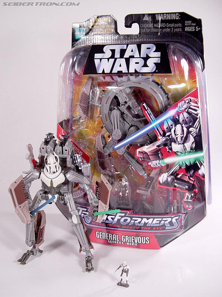 Star Wars Transformers General Grievous (Wheel Bike) (Image #116 of 117)