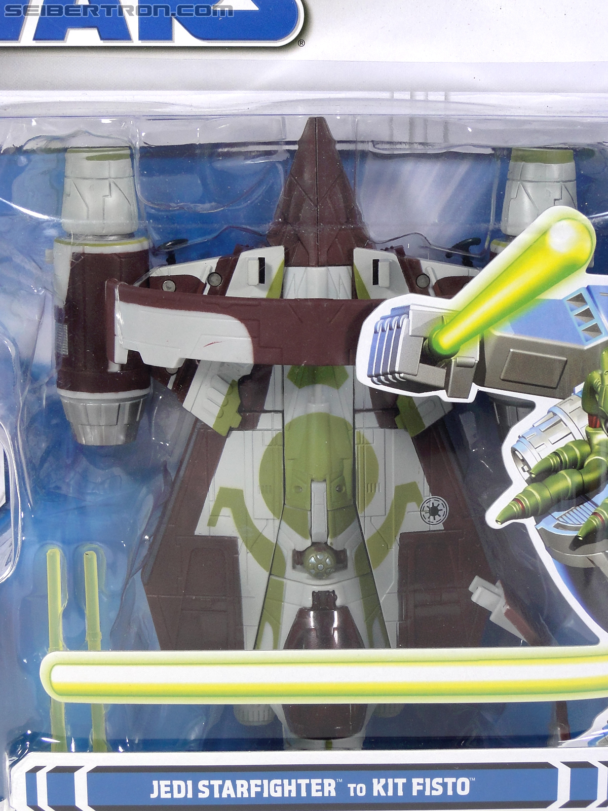 Star Wars Transformers Kit Fisto (Jedi Starfighter) (Image #2 of 104)