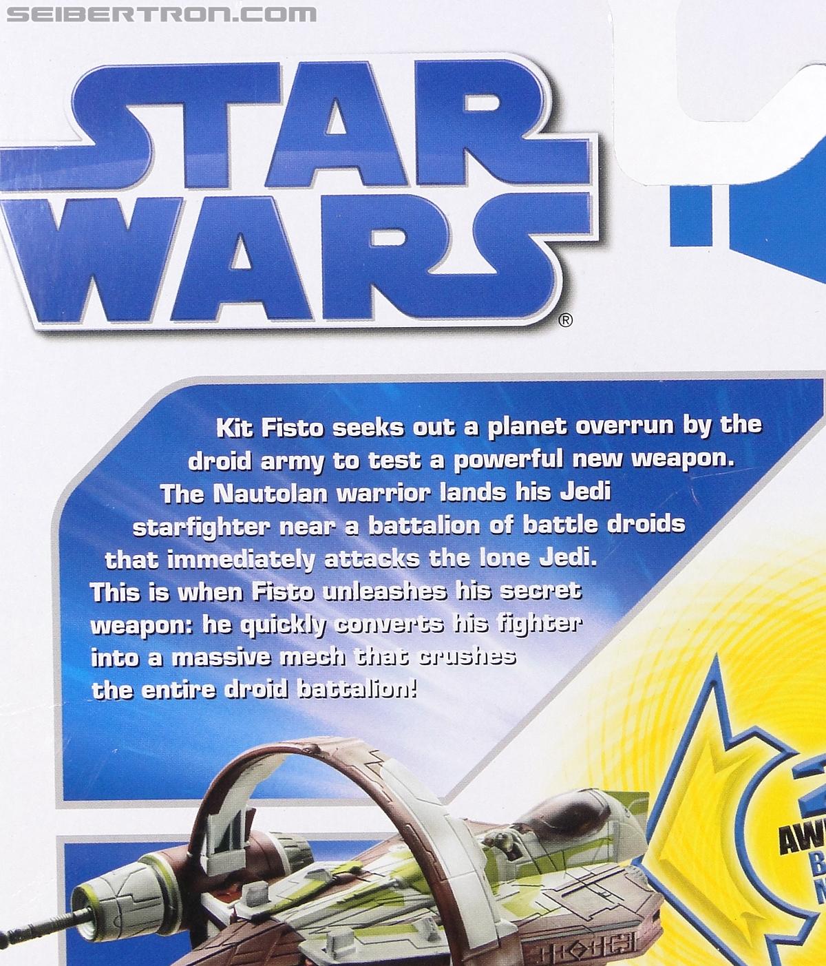 Star Wars Transformers Kit Fisto (Jedi Starfighter) (Image #8 of 104)