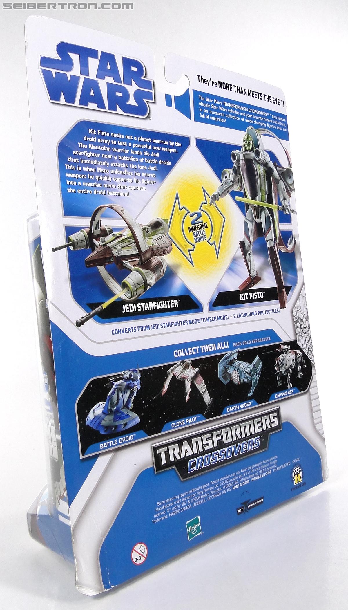 Star Wars Transformers Kit Fisto (Jedi Starfighter) (Image #10 of 104)