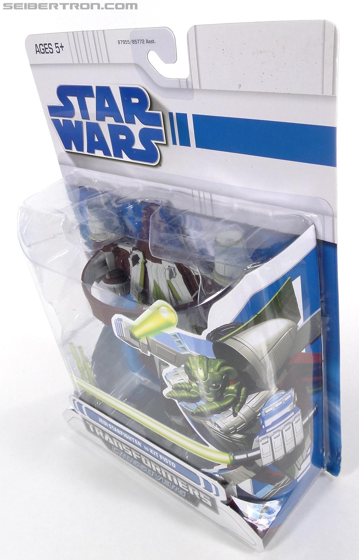 Star Wars Transformers Kit Fisto (Jedi Starfighter) (Image #12 of 104)