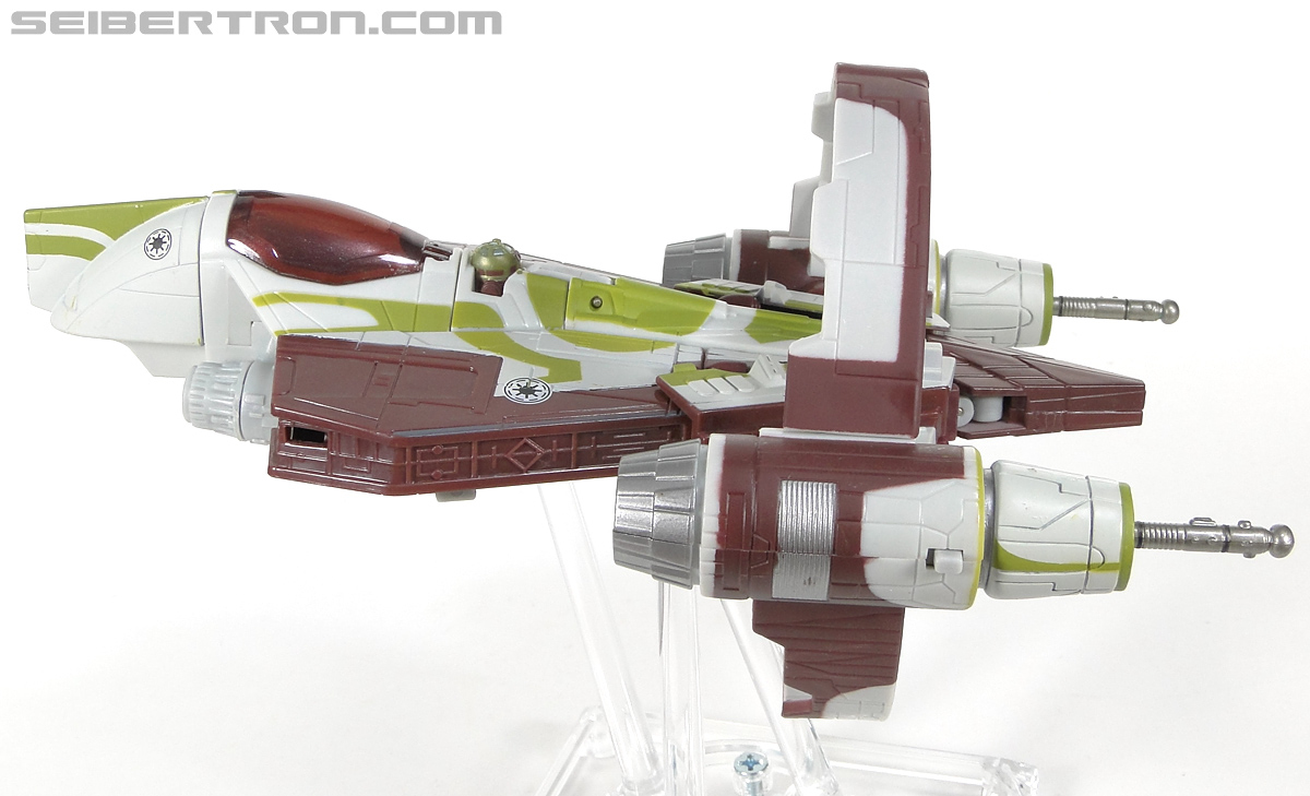 Star Wars Transformers Kit Fisto (Jedi Starfighter) (Image #19 of 104)