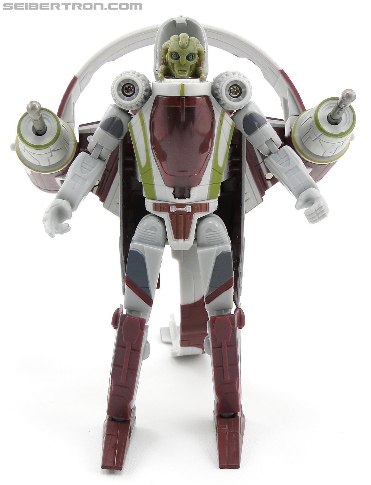 Star Wars Transformers Kit Fisto (Jedi Starfighter) (Image #39 of 104)