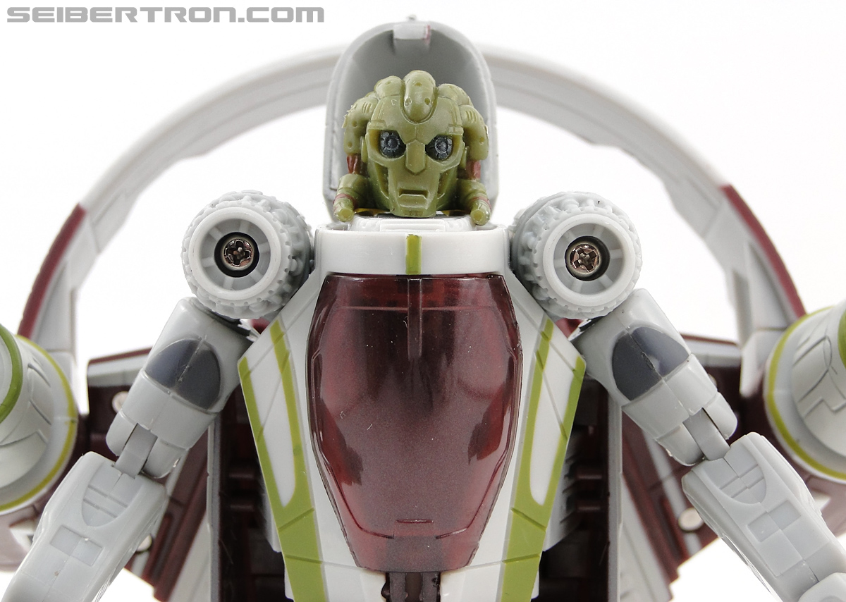 Star Wars Transformers Kit Fisto (Jedi Starfighter) (Image #42 of 104)