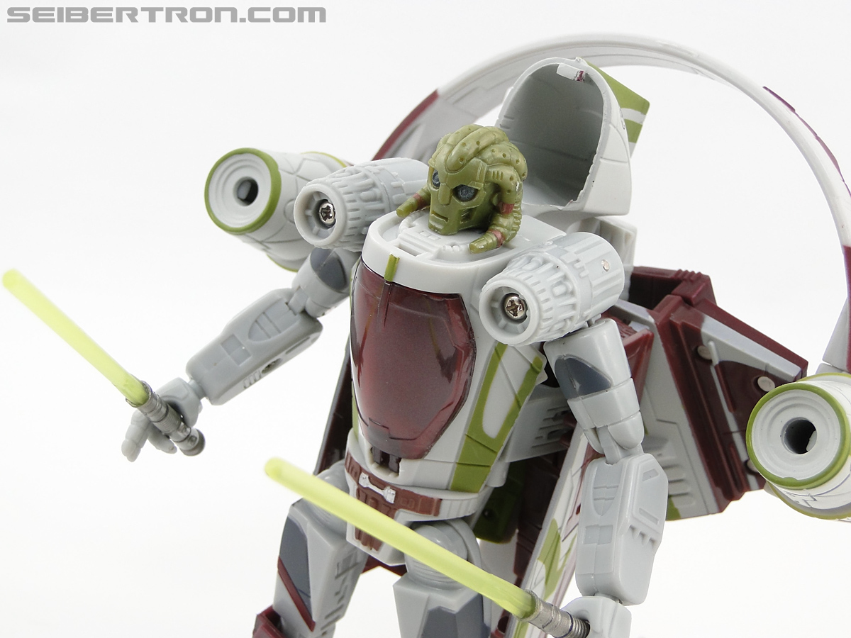 Star Wars Transformers Kit Fisto (Jedi Starfighter) (Image #61 of 104)