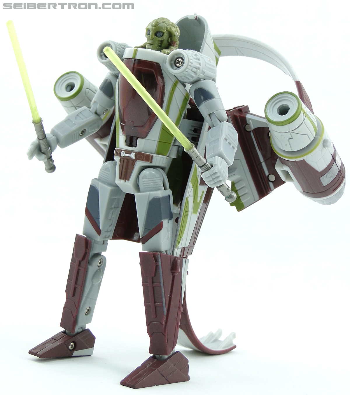 Star Wars Transformers Kit Fisto (Jedi Starfighter) (Image #65 of 104)