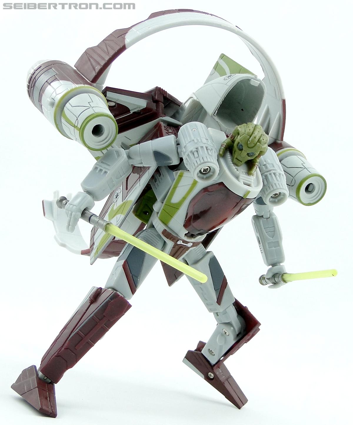 Star Wars Transformers Kit Fisto (Jedi Starfighter) (Image #66 of 104)