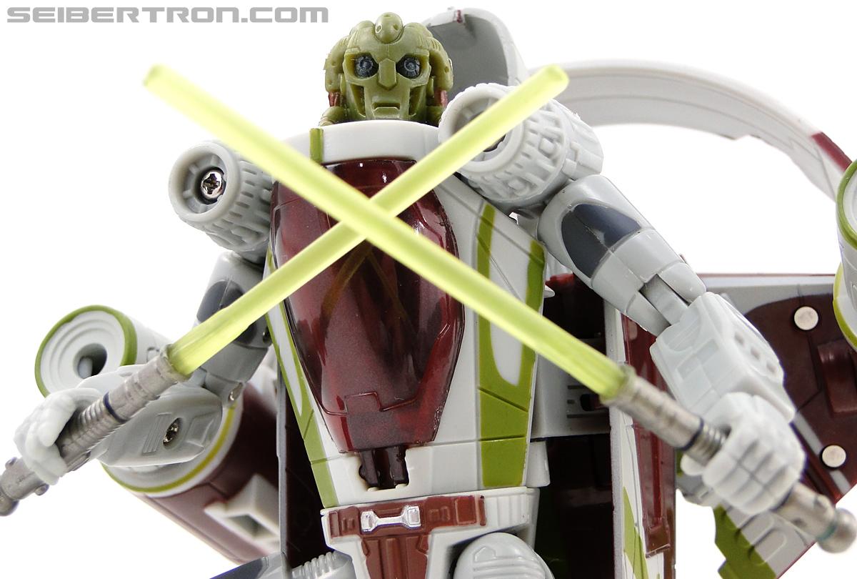 Star Wars Transformers Kit Fisto (Jedi Starfighter) (Image #79 of 104)