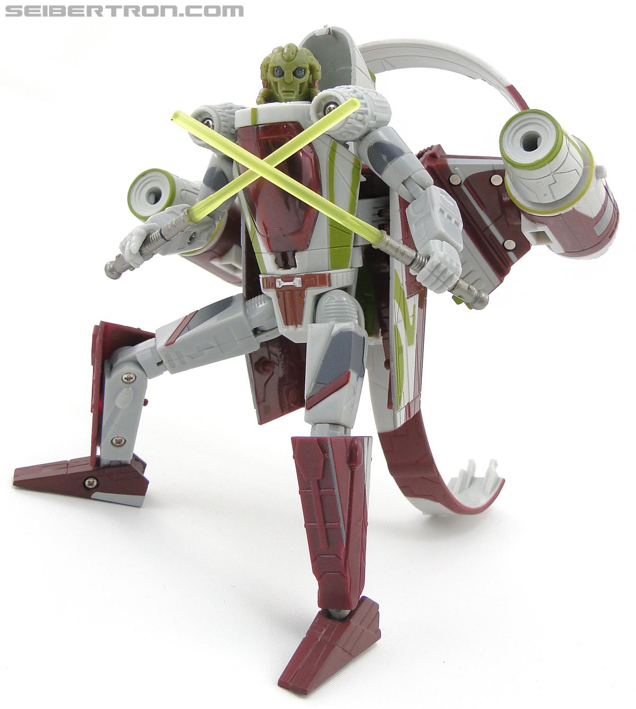 Star Wars Transformers Kit Fisto (Jedi Starfighter) (Image #81 of 104)