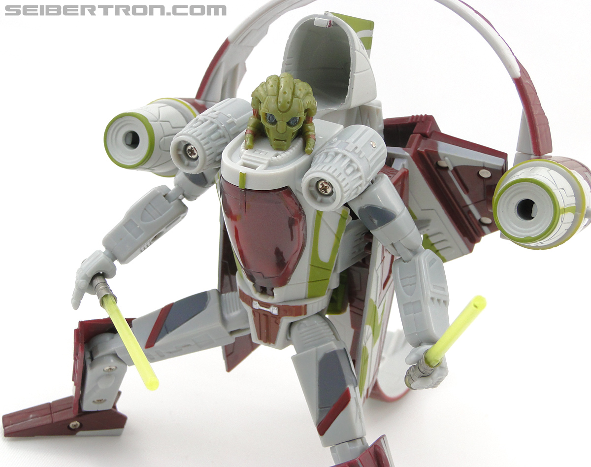 Star Wars Transformers Kit Fisto (Jedi Starfighter) (Image #83 of 104)