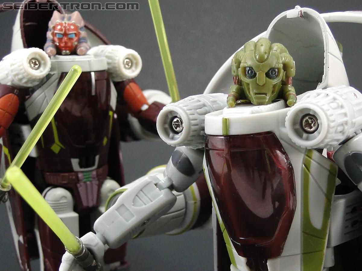 Star Wars Transformers Kit Fisto (Jedi Starfighter) (Image #95 of 104)