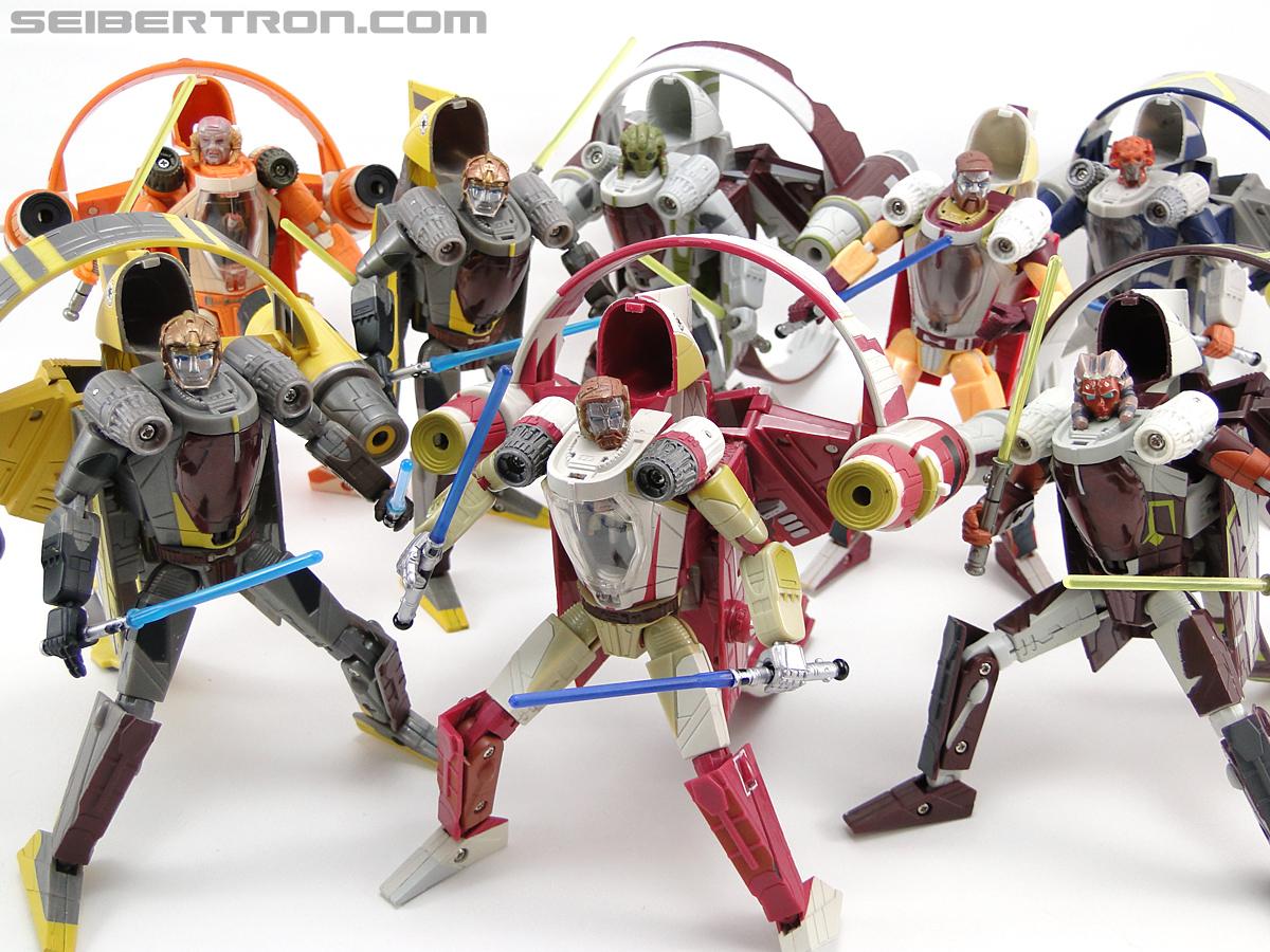 Star Wars Transformers Kit Fisto (Jedi Starfighter) (Image #103 of 104)