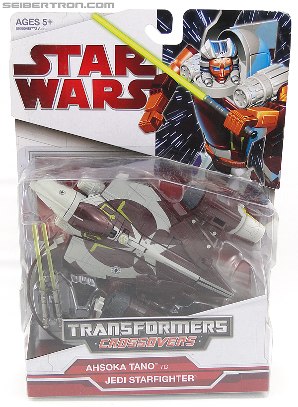 Star Wars Transformers Ahsoka Tano (Jedi Starfighter) (Image #1 of 108)
