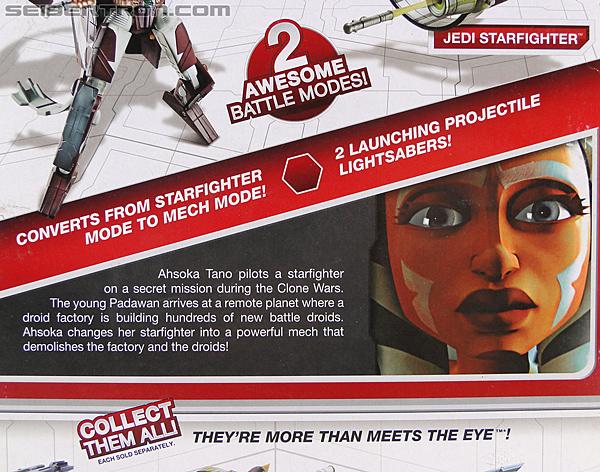 Star Wars Transformers Ahsoka Tano (Jedi Starfighter) (Image #7 of 108)