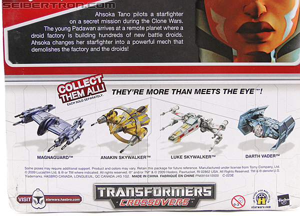 Star Wars Transformers Ahsoka Tano (Jedi Starfighter) (Image #8 of 108)