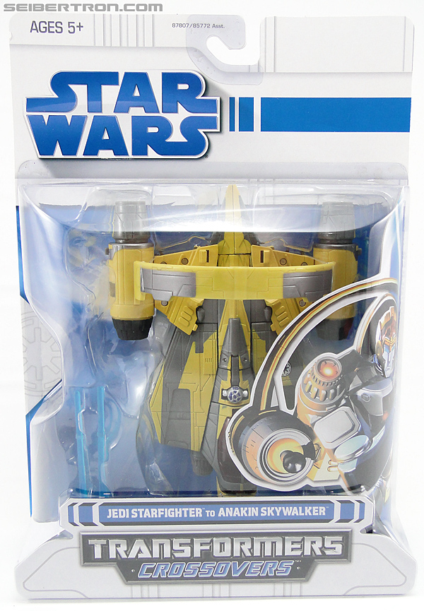Star Wars Transformers Anakin Skywalker (Jedi Starfighter with Hyperspace Docking Ring) (Image #1 of 131)