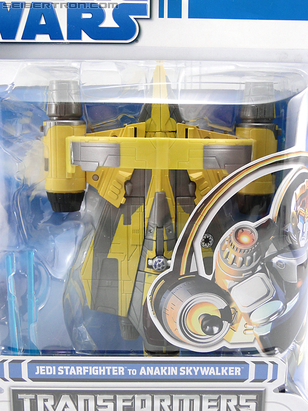 Star Wars Transformers Anakin Skywalker (Jedi Starfighter with Hyperspace Docking Ring) (Image #2 of 131)