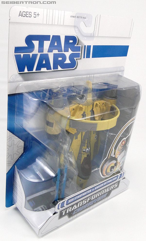 Star Wars Transformers Anakin Skywalker (Jedi Starfighter with Hyperspace Docking Ring) (Image #5 of 131)
