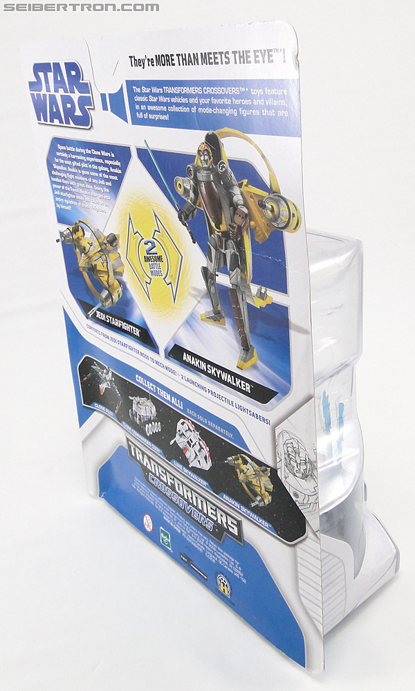 Star Wars Transformers Anakin Skywalker (Jedi Starfighter with Hyperspace Docking Ring) (Image #6 of 131)