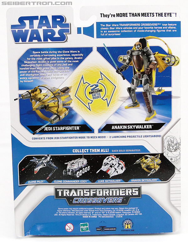 Star Wars Transformers Anakin Skywalker (Jedi Starfighter with Hyperspace Docking Ring) (Image #7 of 131)
