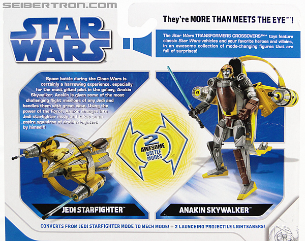 Star Wars Transformers Anakin Skywalker (Jedi Starfighter with Hyperspace Docking Ring) (Image #8 of 131)