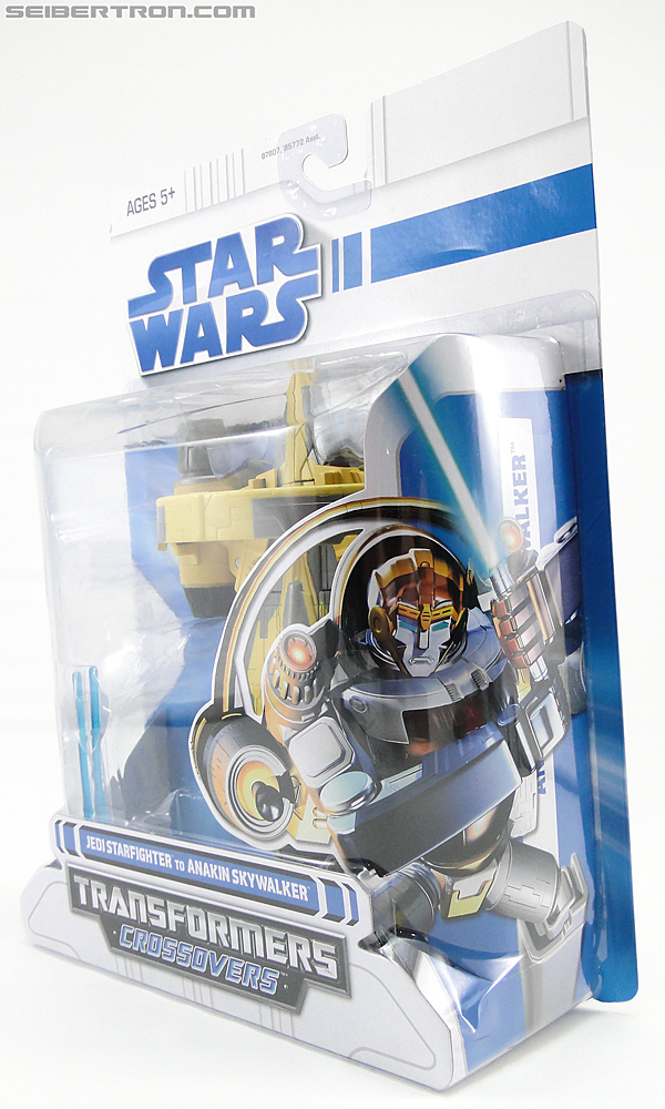 Star Wars Transformers Anakin Skywalker (Jedi Starfighter with Hyperspace Docking Ring) (Image #12 of 131)